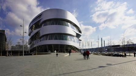 Mercedes Benz Museum Stuttgart, © Jörg Schmöe Fotograf