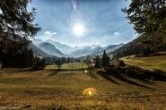 das malerische Bodental im Herbst