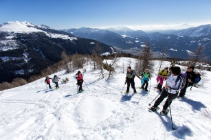 SchneeSchuhTour Emberger Alm im oberen DrauTal