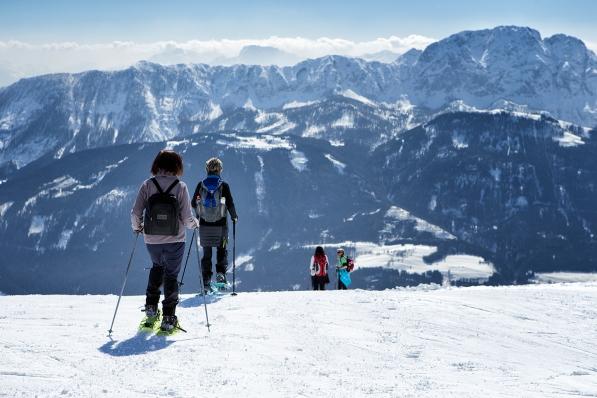 Schneeschuh Tour für Landhotel Rosentalerhof