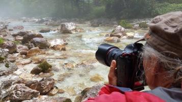 Soča Fotosafari BehindTheScenes