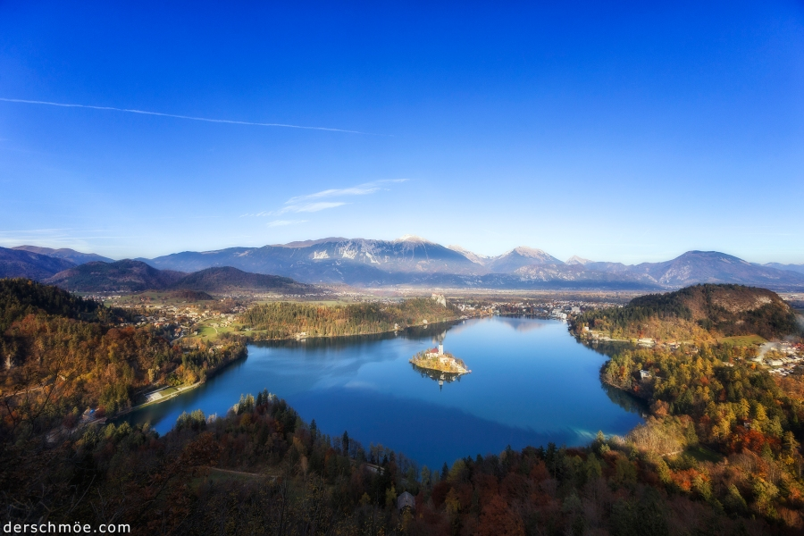 Lake Bled in Slowenien